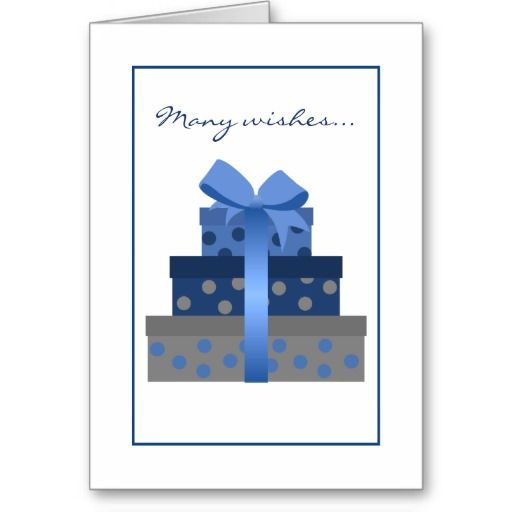 Stacked Gift Boxes Birthday Card Birthdays Box And Gift
