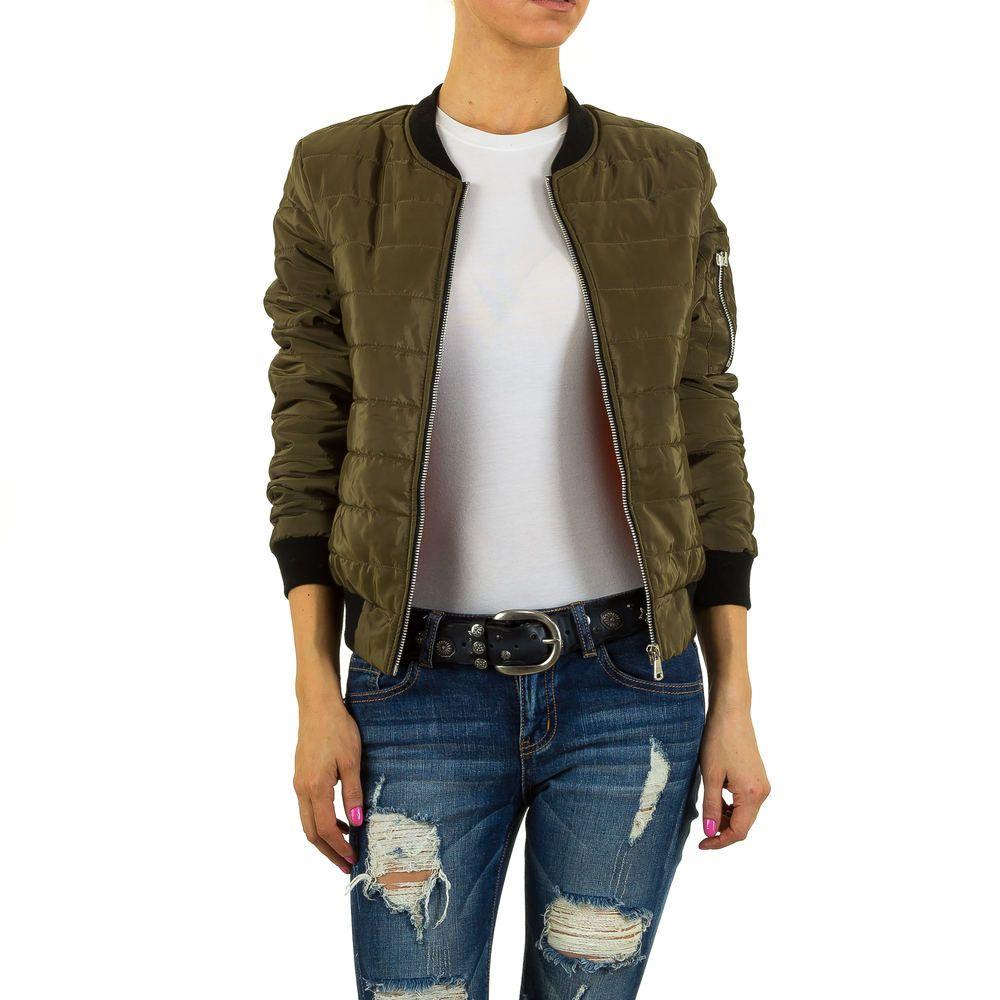 18,99 € - Diese gesteppte Bomberjacke gehört einfach in jeden Kleiderschrank! Kombinieren Sie diese kurze Jacke zu Hosen, Röcken oder Kleidern.