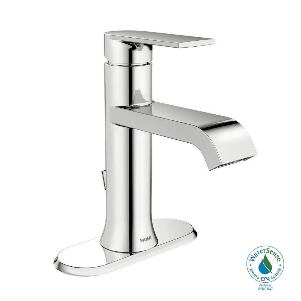 Bathroom - Iso 1 Handle Lavatory Faucet - Chrome Finish