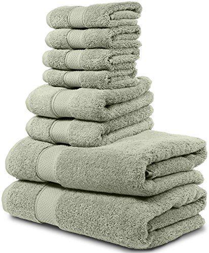 Luxury Bath Towel Set Hotel Spa Quality 2 Large Bath Towels 30x56