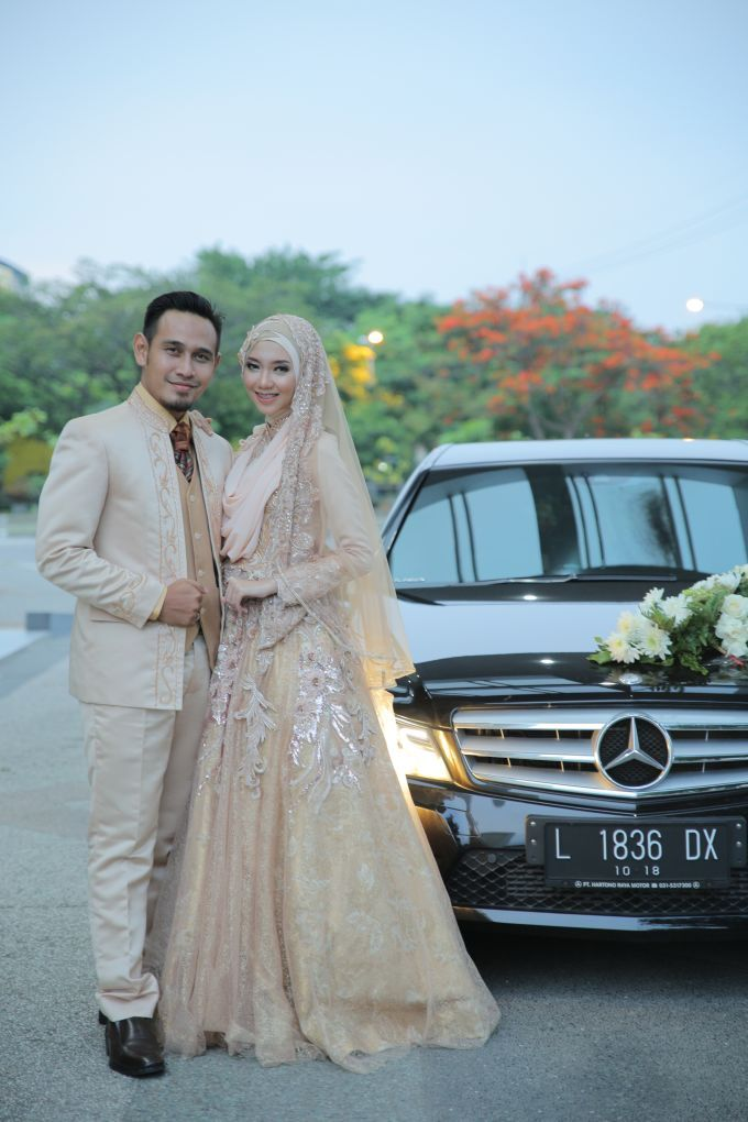 Nia & Fifin Wedding by LAKSMI - Kebaya Muslimah & Islamic Wedding ...