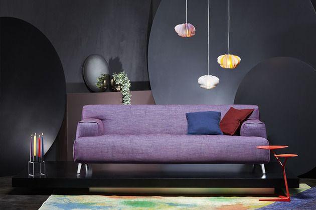 Pale Violet couch Architecture and Interior Design Pinterest - das sofa oscar perfekte erganzung wohnumgebung