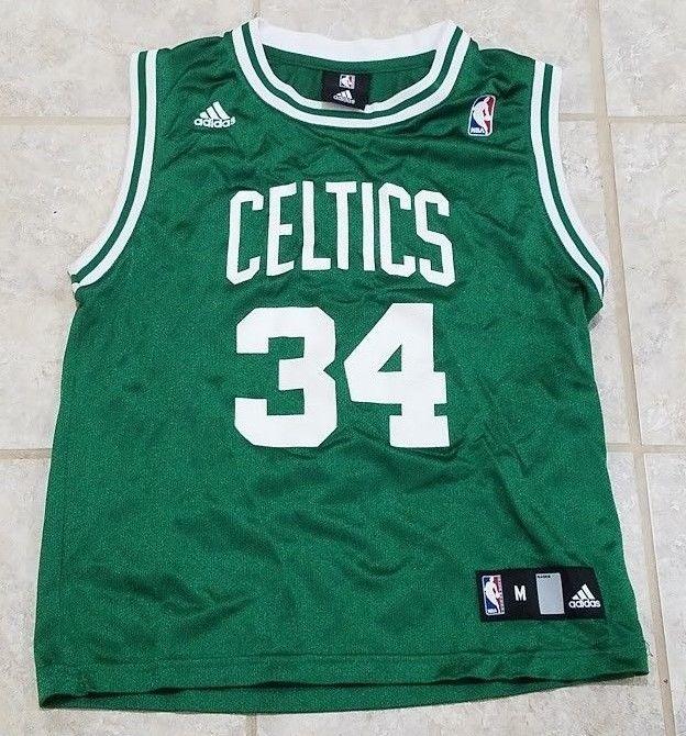 Boston Celtics Paul Pierce Adidas NBA Youth Medium Jersey 10-12 New without  tags  adidas  BostonCeltics 80d0a28d5