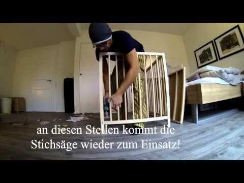 Beistellbett Selber Bauen Youtube Baby Routine Ikea Bed Baby