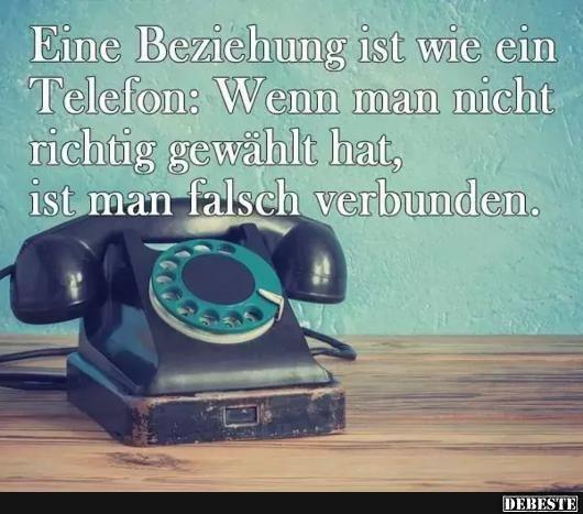 Eine Beziehung Ist Wie Ein Richtig Telefon Lustige Bilder Spruche Witze Echt Lustig Telefon Retro Telefon Retro