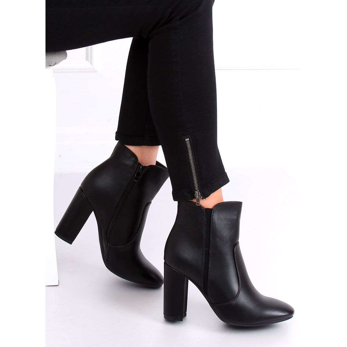 Sztyblety Damskie Buty Damskie A Little Glamour Chelsea Boots Boots Casual Shoes