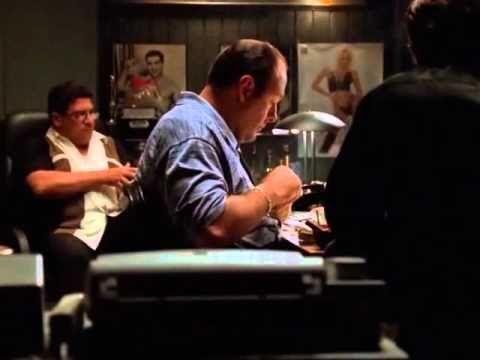 Soprano - Silvio Dante imita Al Pacino - YouTube