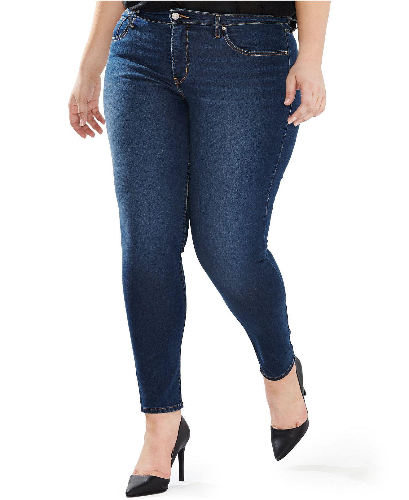 9c92de07aa1ad Levi s Plus Size 310 Shaping Super Skinny - Jeans - Plus Sizes - Macy s
