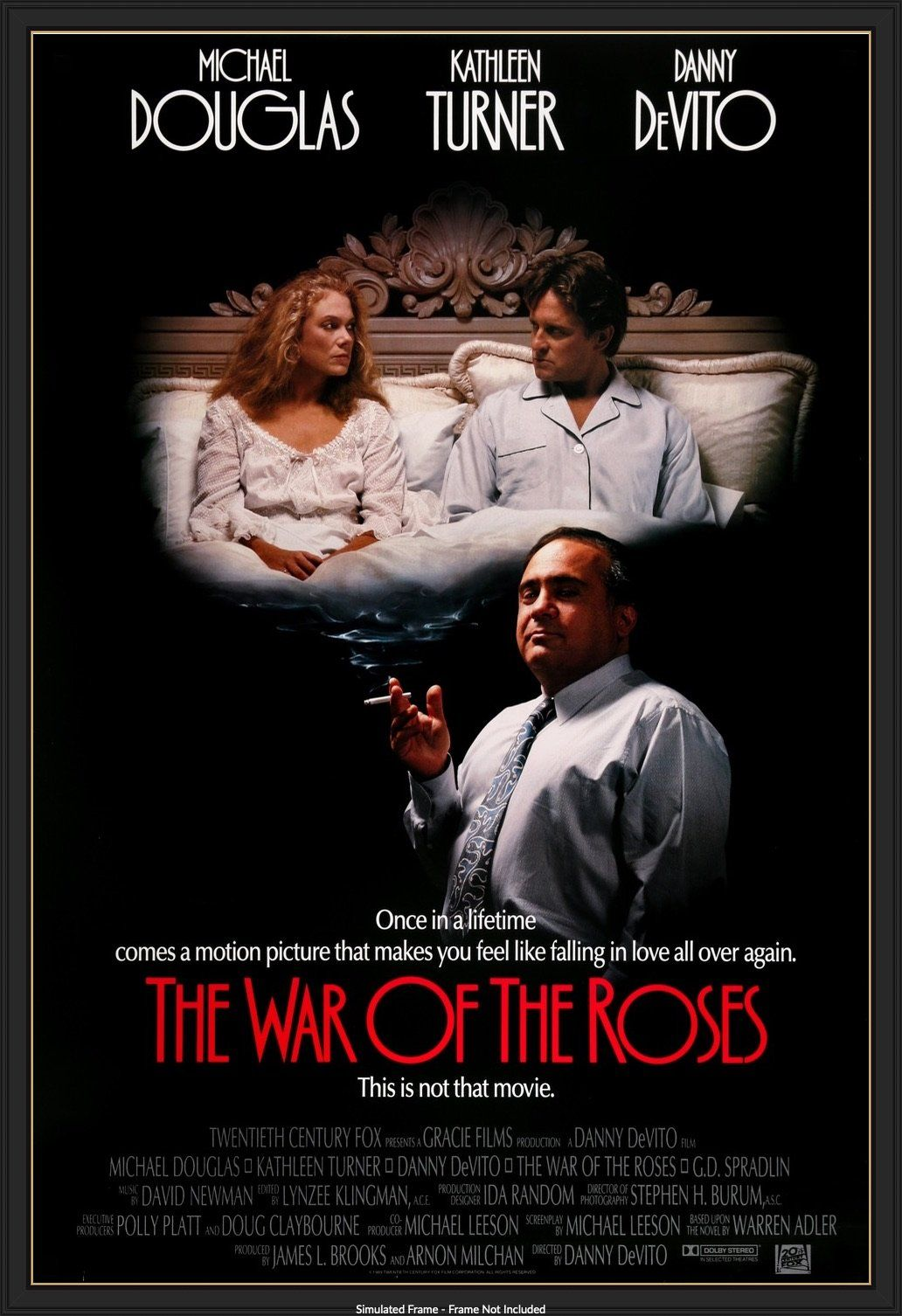 War Of The Roses 1989 In 2021 Wars Of The Roses Comedy Films Love Movie