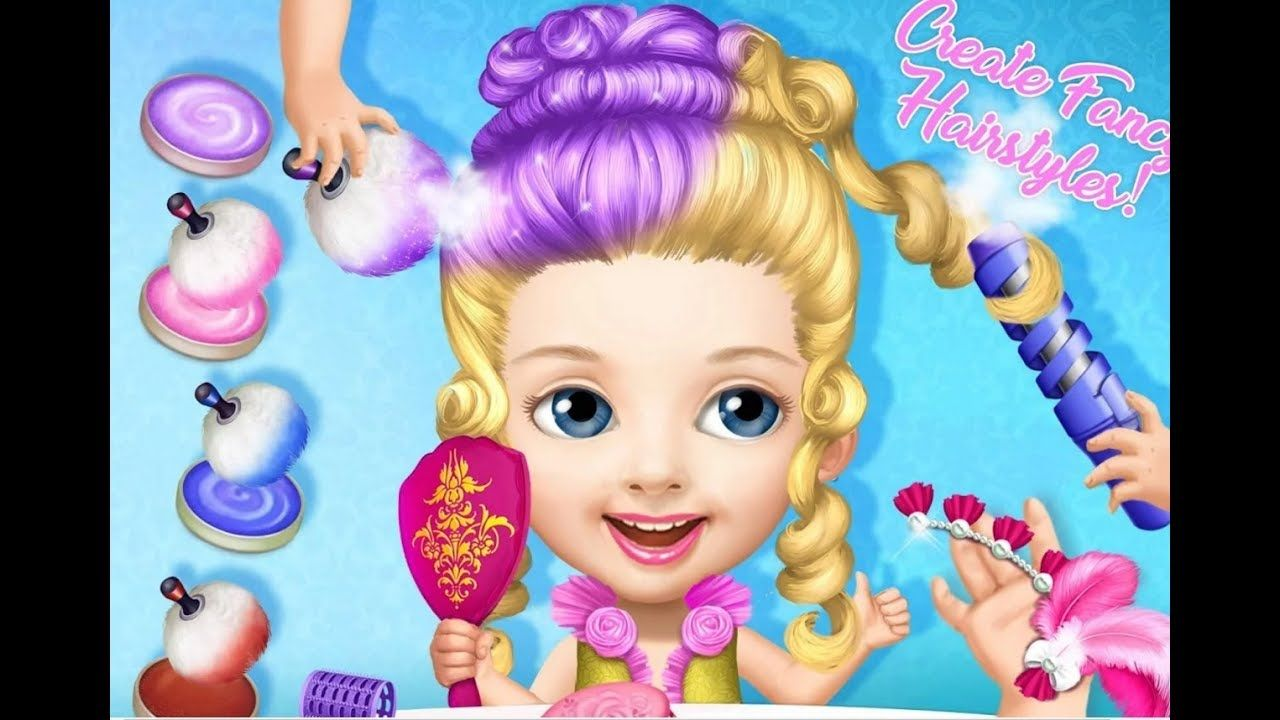 Best Baby Care Kids Game Pretty Little Princess Dress Up Hair