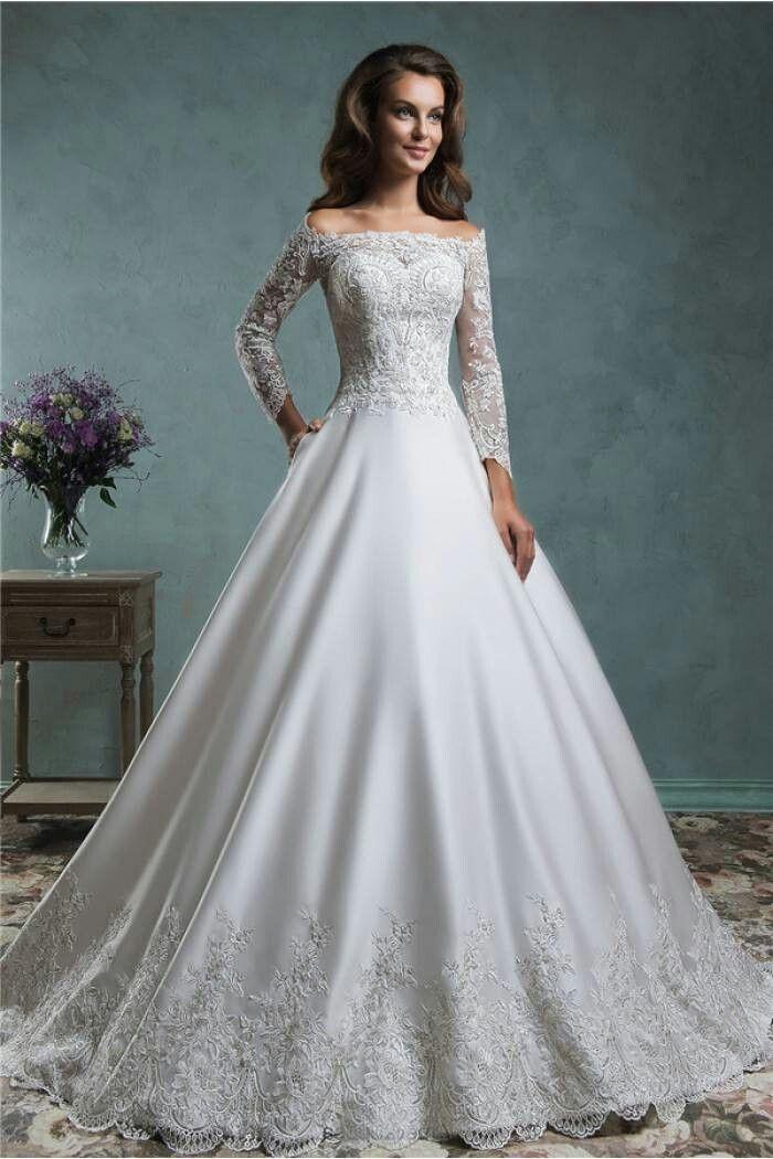 Pin von Trixie Costa auf Wedding Dress 3 | Pinterest | Brautkleider ...