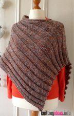Photo of 25+ poncho free knitting patterns easy – Free Knitting Pattern