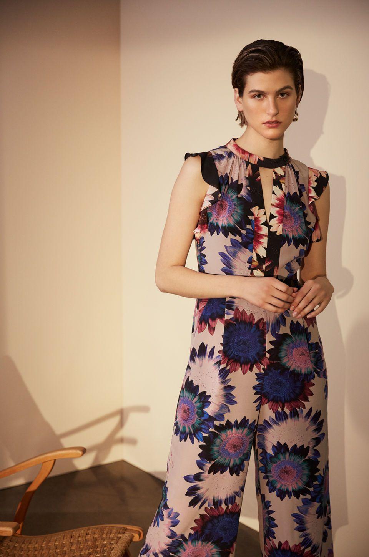 41deeba5211 Whistles  Modern Occasionwear - Sunflower Print Jumpsuit ...