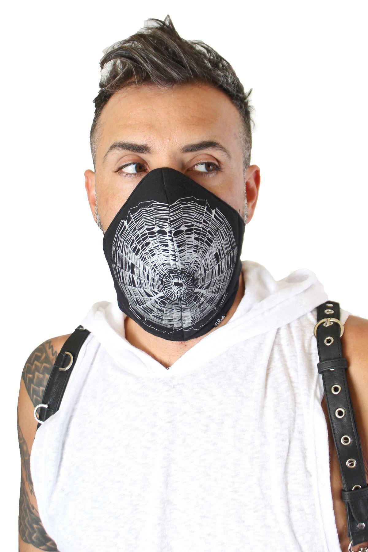 Dust Mask Spiderweb Short