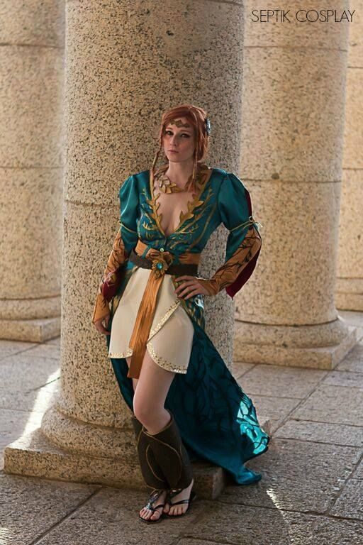 Look At This Amazing Witcher 3 Triss Cosplay Gamespot
