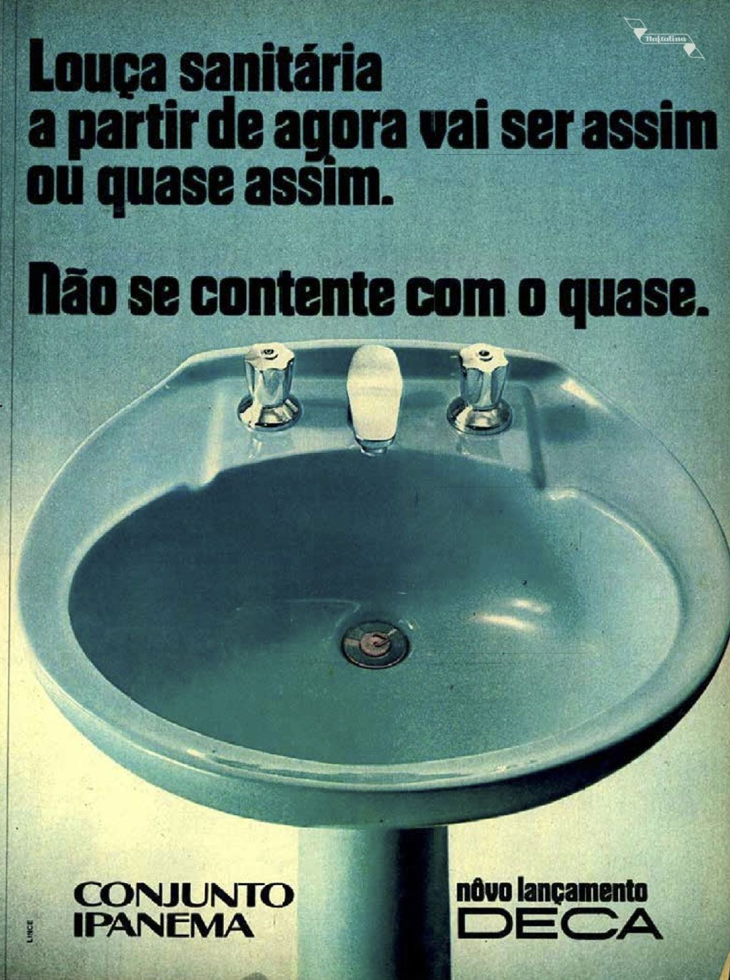 Deca - Conjunto Ipanema #Brasil #anos70 #retro #anunciosAntigos #vintageAds