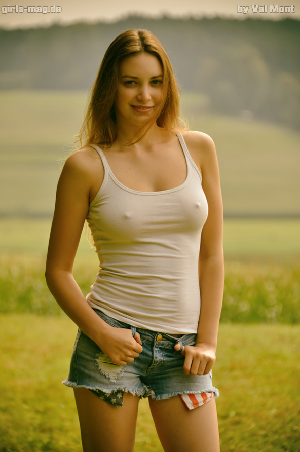 hitchhiker horny girl