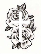 Photo of cruz rosa #tattoo cruz rosa #tattoo Cette image a obtenu 56 repins. Auteur:…