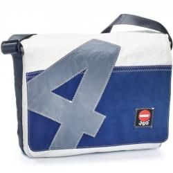 Photo of 360 ° pockets 360 ° barge canvas bag Genoa blue, number grayDesigntolike.de