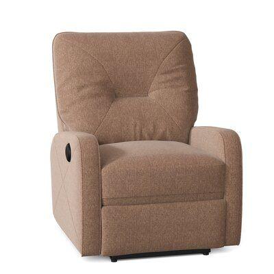 Palliser Furniture Moorgate Recliner Body Fabric: Ambient Acorn, Motion Type: Power Rocker