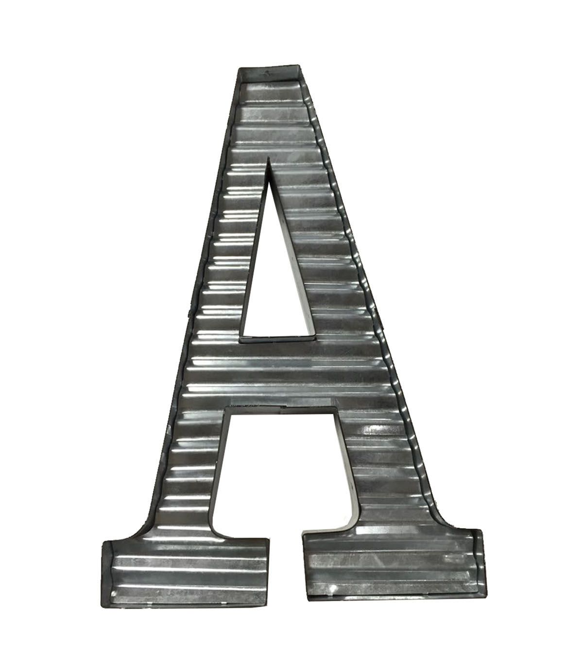 fab lab™ galvanized letters | metals, decor and labs