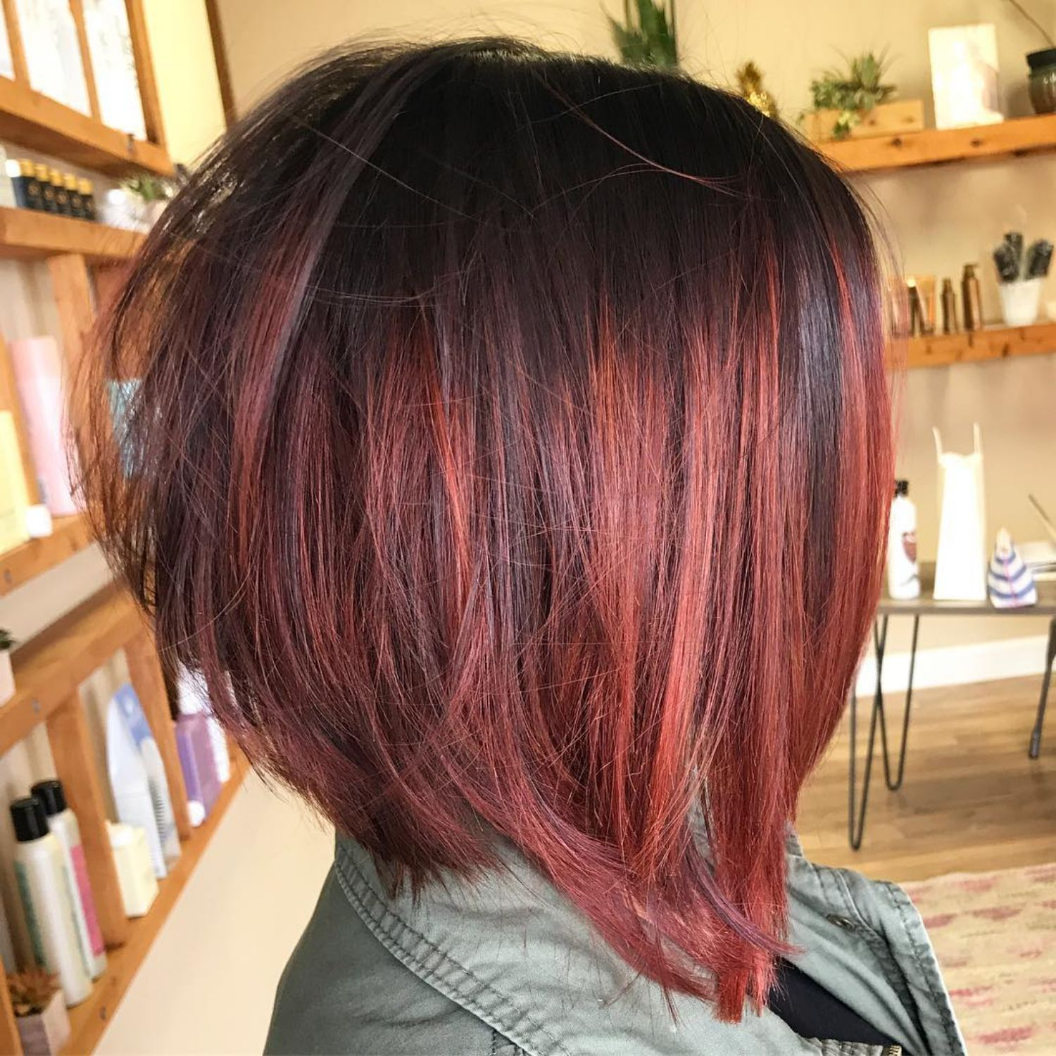 The full stack hottest stacked haircuts hair color pinterest