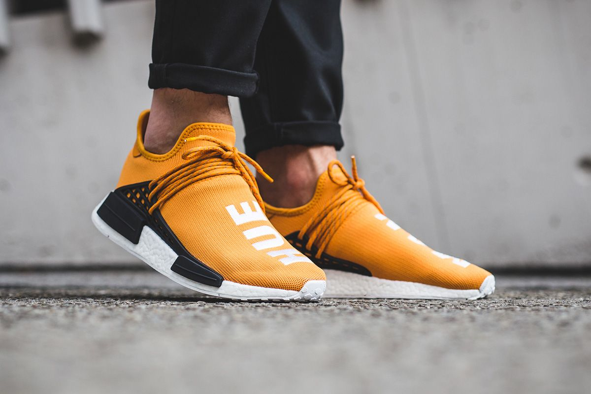 Adidas Pharrell x NMD Hu 'Tennis' Yellow Urban Necessities