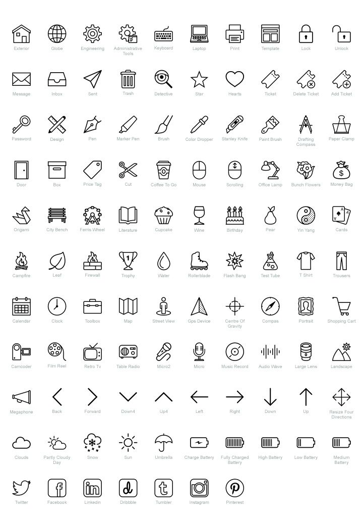 100  free psd icons for ios    bonus  by icons8