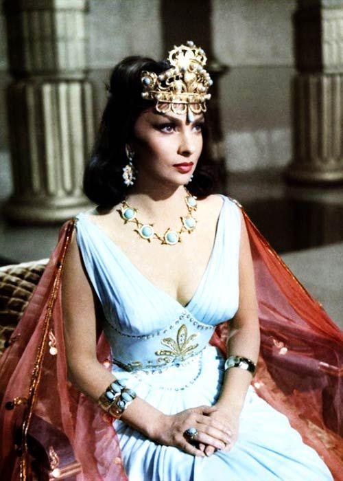 Salomon Et La Reine De Saba : salomon, reine, Lollobrigida, 'Solomon, Sheba', (1959)., Lollobrigida,, Hollywood, Glamour,, Italian, Actress