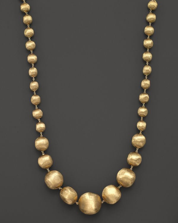 Marco Bicego Africa Beaded 18K Necklace, 18