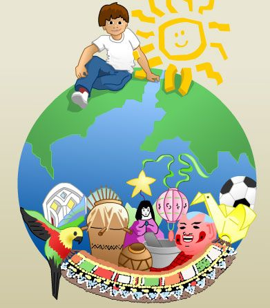 Camille's Primary Ideas: Children All Over The World