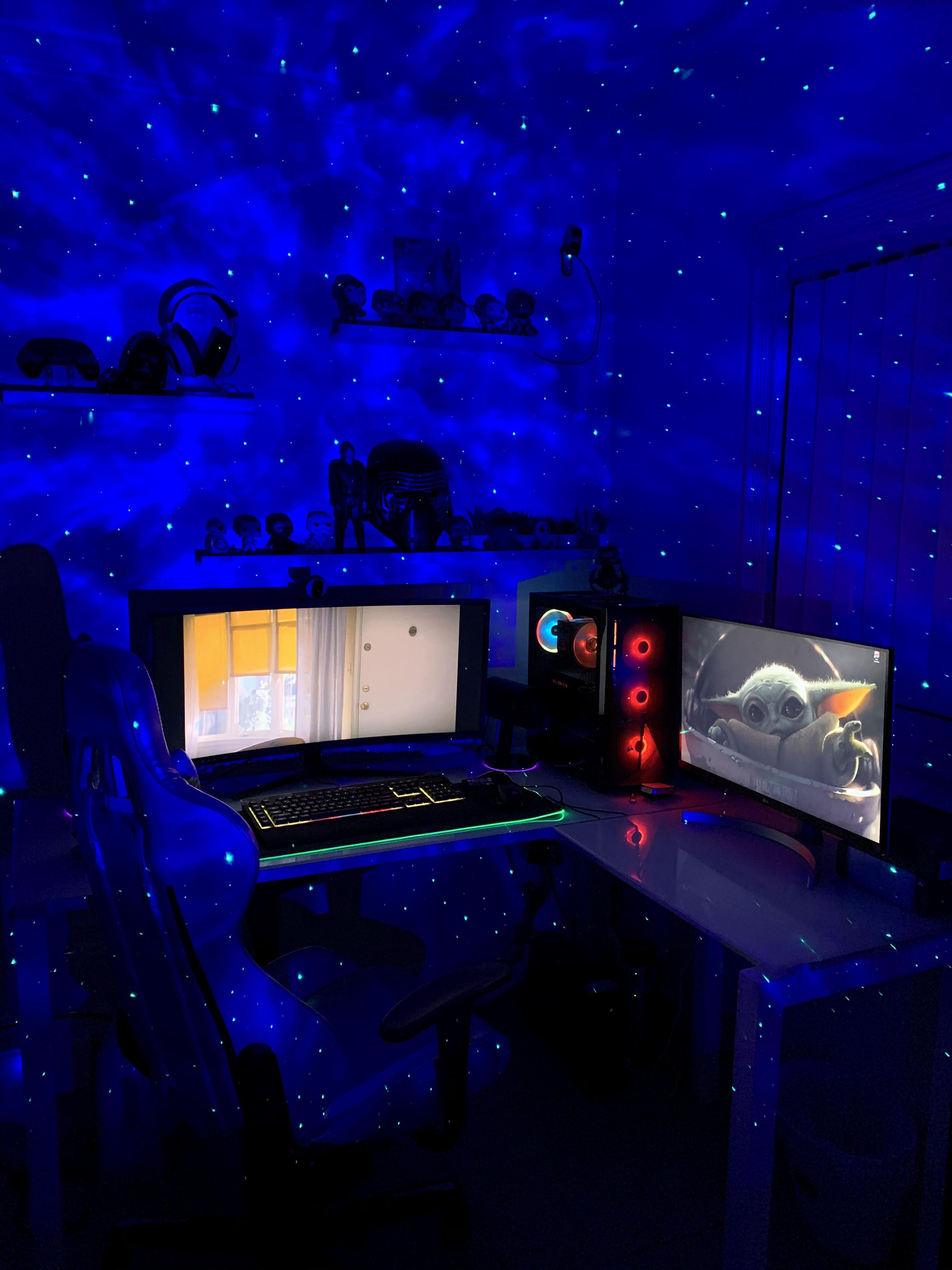 Best Lighting Ever Bedroom Night Light Cool Lighting Gaming Room Setup