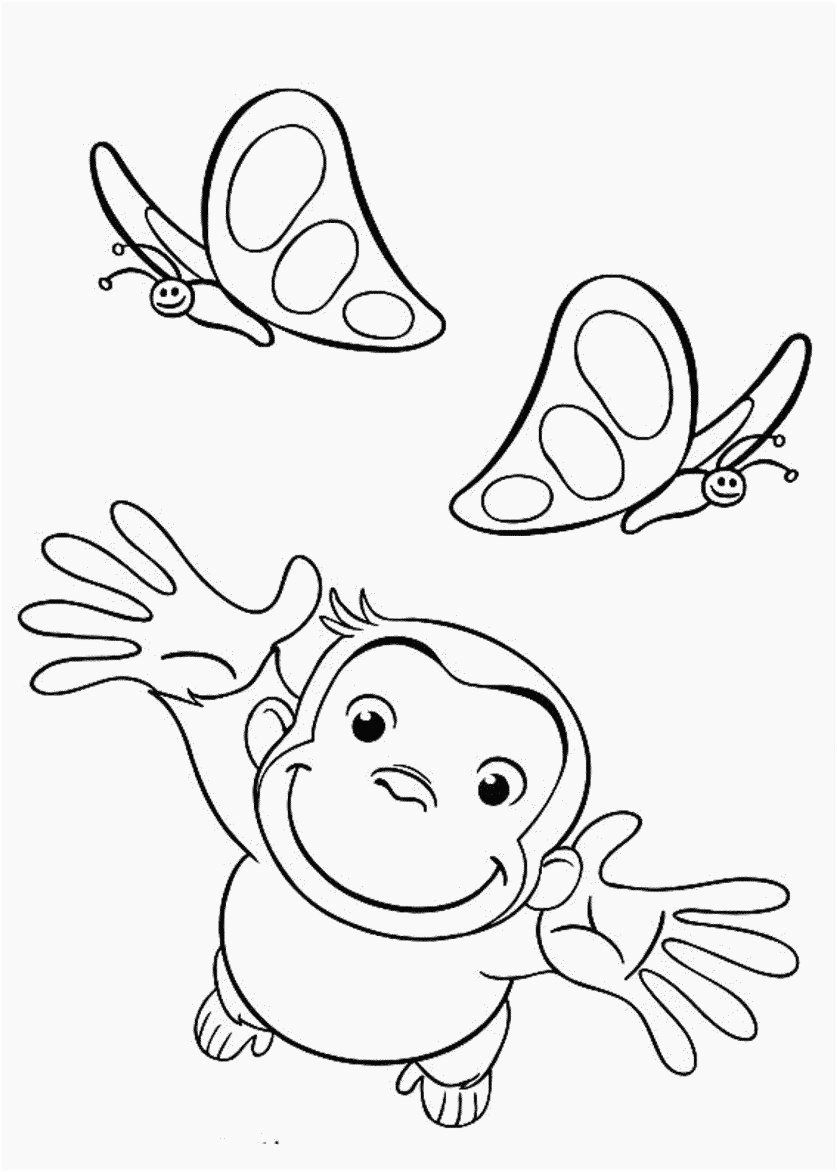 Curious George Coloring Book Inspirational Bulk Coloring Books Footage Curious George Colo In 2020 Butterfly Coloring Page Curious George Coloring Pages Coloring Books