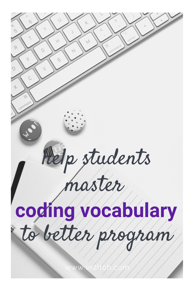 Coding Word Wall Coding Lessons Teaching Coding Word Wall