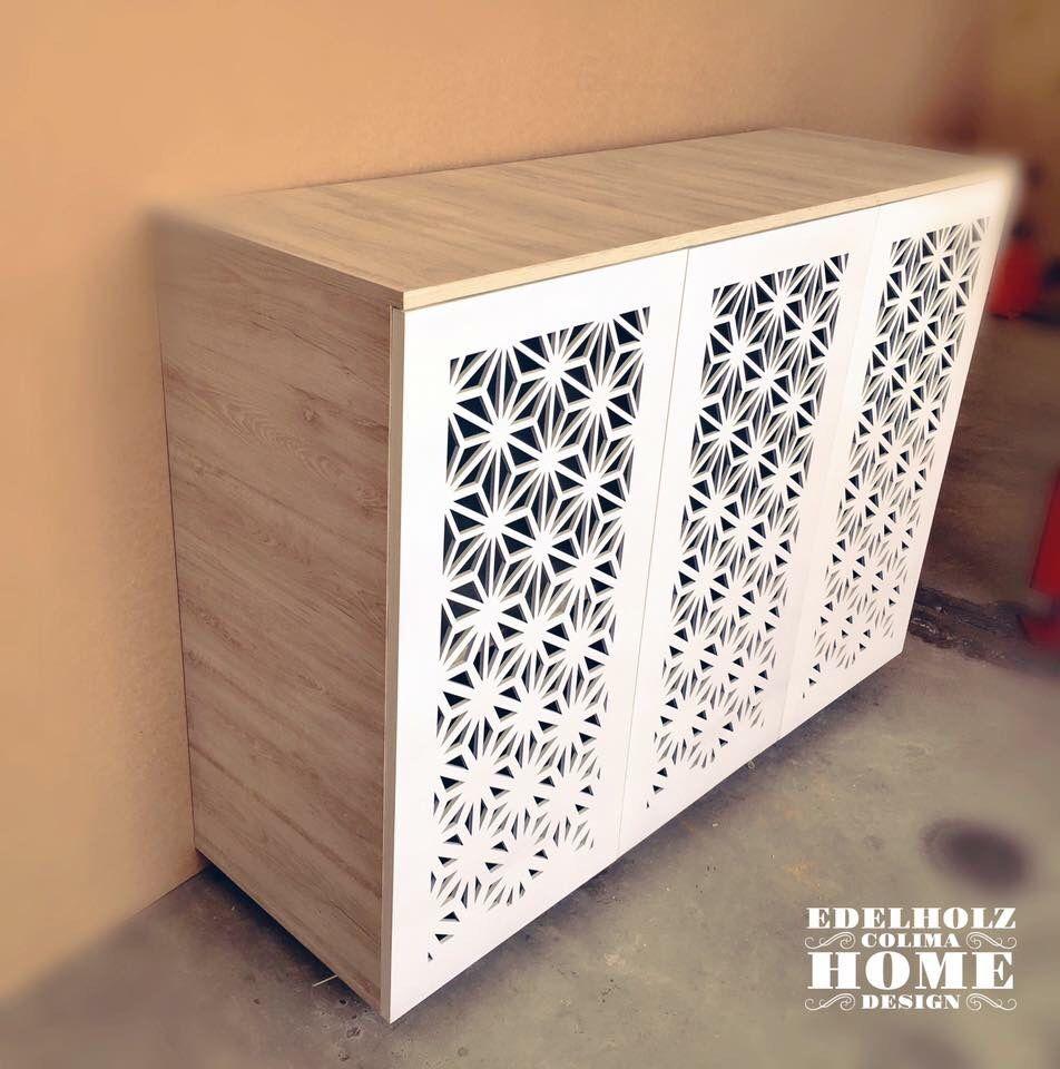 Mueble Fabricado En Mdf Laminado Texturizado Puertas Con Dise O  # Muebles Texturizados