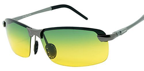 Dreamviva® Metal Day and Night Vision Anti Glare Driving- something like this