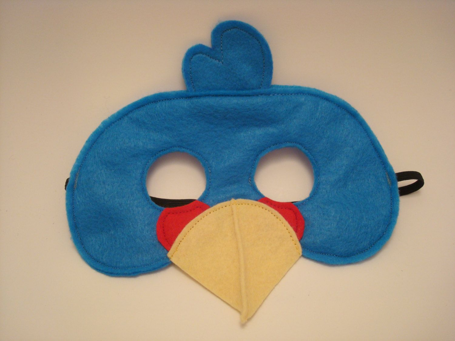 Angry Bird Red Black Yellow Green Pig Blue Bird masks birthday ...