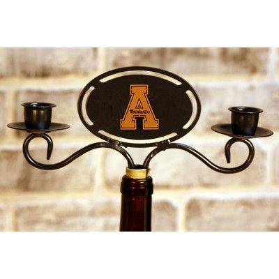 HensonMetalWorks NCAA Metal Candelabra NCAA Team: Appalachian State University