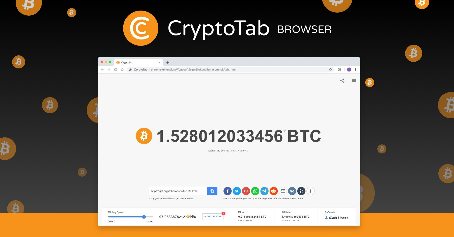 how to earn bitcoins in hack/extension