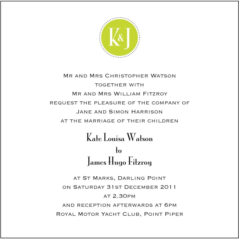 Image For Wedding Invitation Wording Bride And Groom Hosting