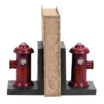 Woodland Imports 55618 Vintage Fire Hydrant Bookends (Set of 2)