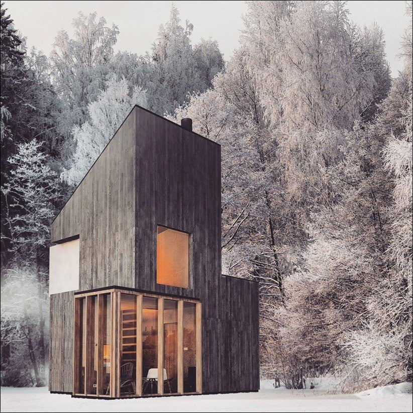Winter Shelter by Fo4a Architecture #fo4aarchitecture #wintershelter