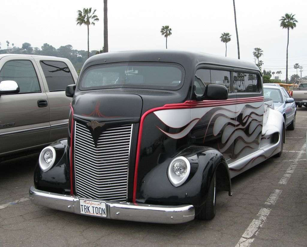 COE Stretch - 1947 1947 Ford COE Stretched, perfect for staying at every car show you want to travel to, plus the car can ride on the back1947 Ford COE Stretched, perfect for staying at every car show you want to travel to, plus the car can ride on the back
