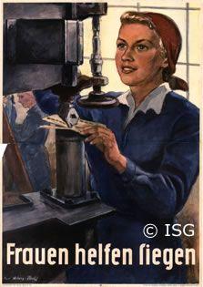 Frauen helfen siegen. ca. 1941