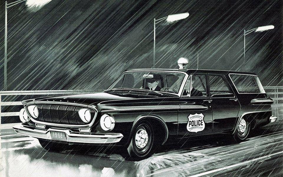 1962 Dodge Dart Station Wagon 225 Slant 6 Dodge Dart Station Wagon