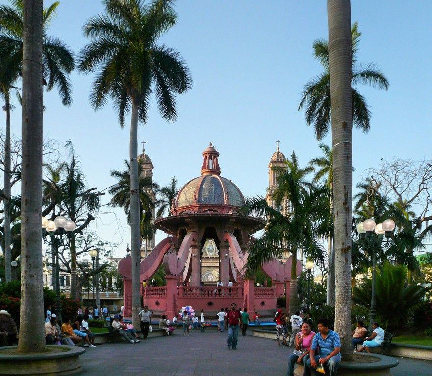 Plaza de Armas, main square of Tampico