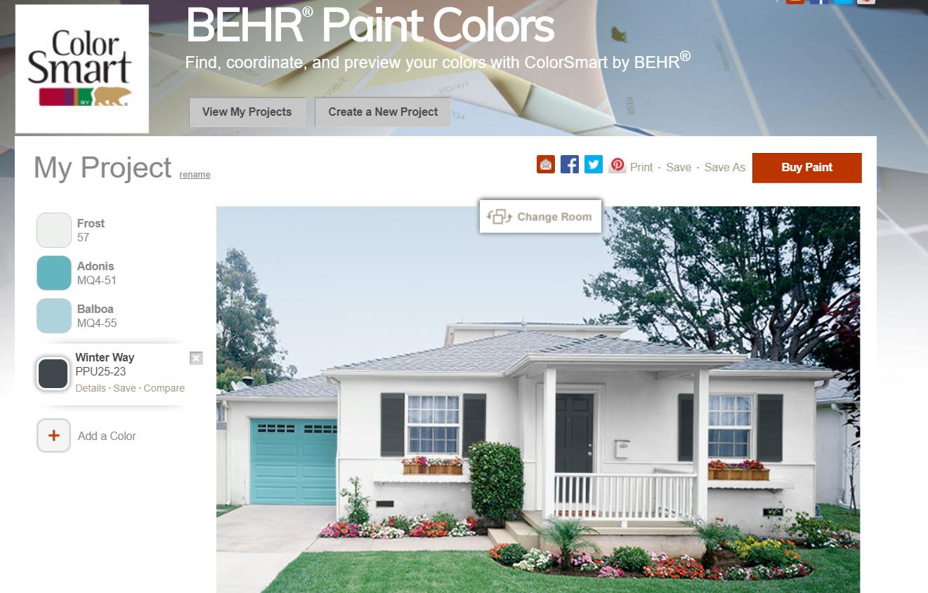 exterior palette behr behr exterior paint paint color on behr paint visualizer id=33252