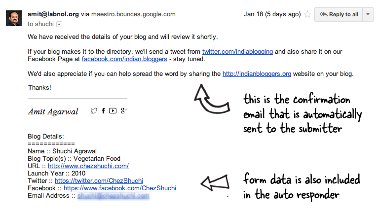 How To Send Confirmation Emails With Google Forms  Google Docs