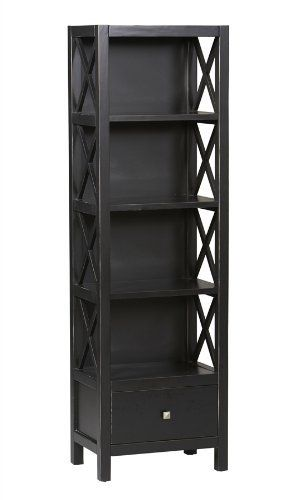 Attractive Found It At Wayfair   Anna Narrow Bookcase In Antique Black