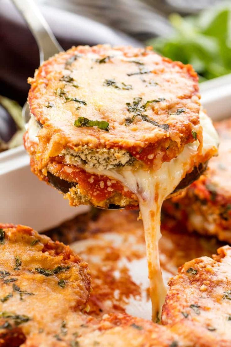 Photo of Best Baked Eggplant Parmesan